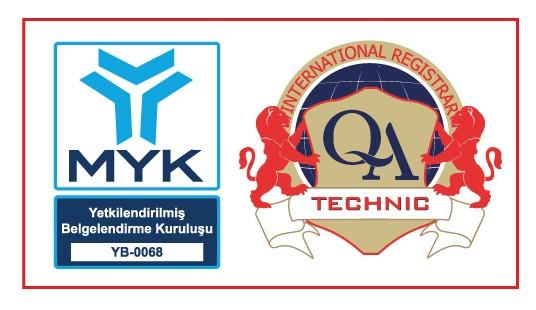 ALBERK QA TECHNIC, Sınav ve Belgelendirme Yapmak üzere MYK tarafından Yetkilendirildi