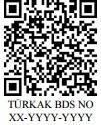TÜRKAK Belge Doğrulama Sistemi (TBDS)